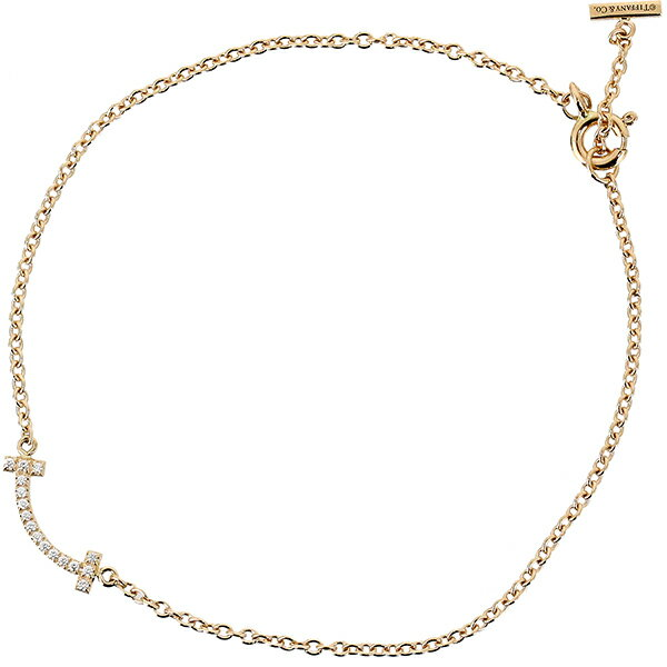 レディースジュエリー・アクセサリー, ブレスレット  T K18PG 16cm Tiffanyco bracelet