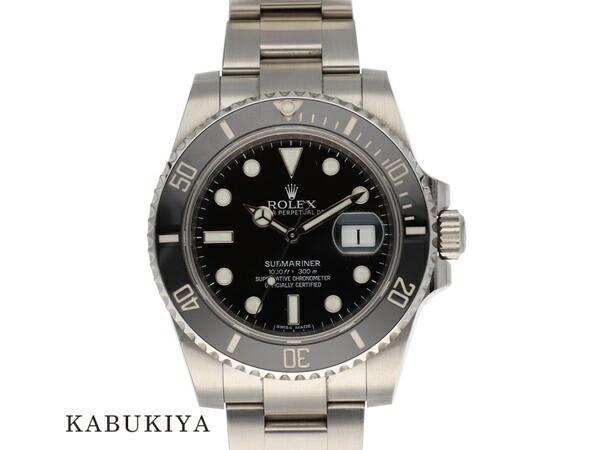 ROLEXロレックスサブマリーナデイト116610LNSSステンレススチールルーレットランダム番ダイバーススポーツモデル腕時計メ
