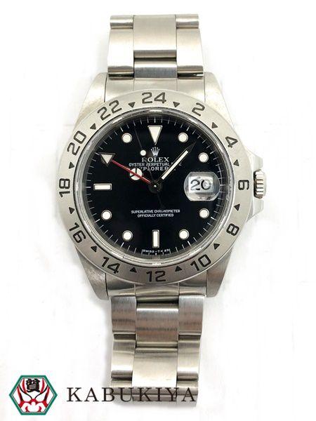 ROLEXロレックスエクスプローラー2腕時計ウォッチステンレススチールスポーツシルバーメンズレディース男女兼用ユニセックス人気ブ