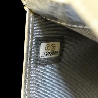 シャネル2.55マトラッセ二つ折り長財布A35298【】