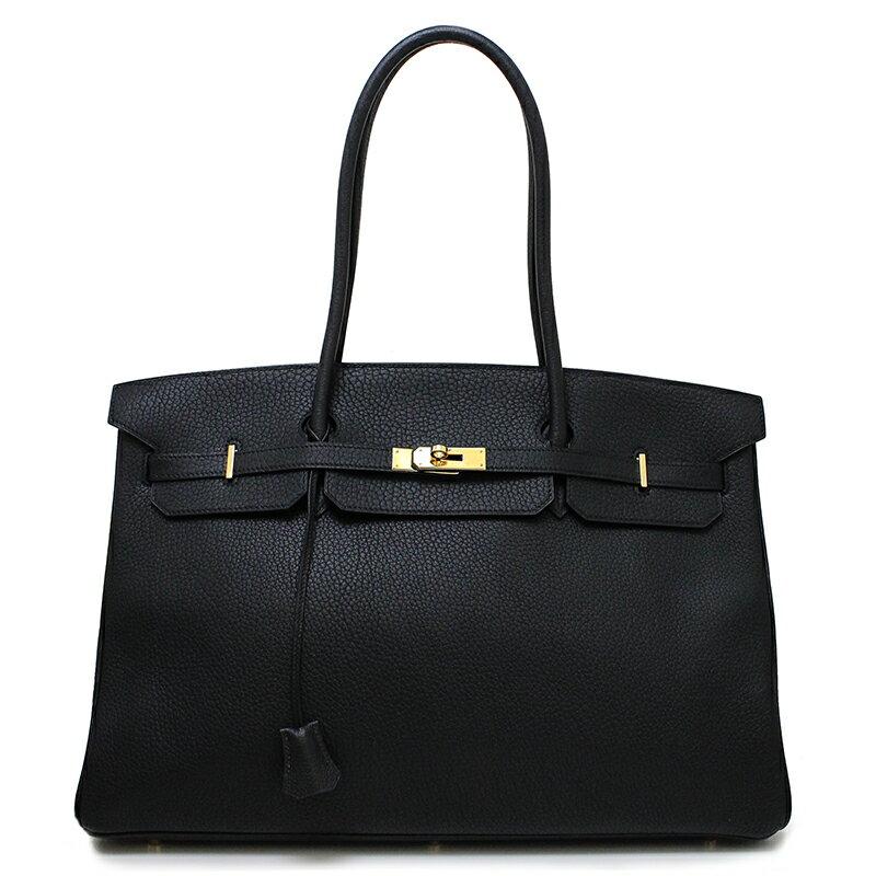5575b8e551 BrandCity  Hermes Birkin 45 long shoulder bag fjord black □ D ...
