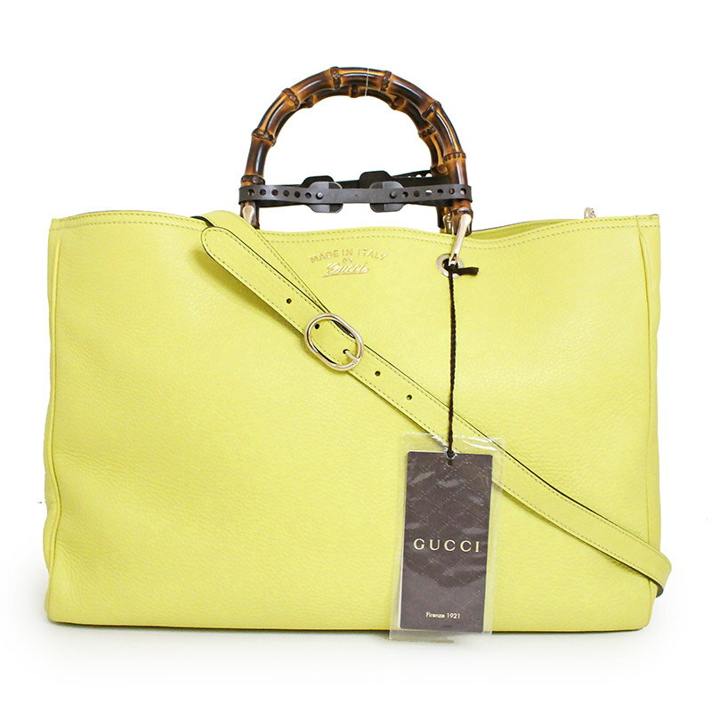 35197330b584 [product cord] th10177455gu59486 [brand] GUCCI [the reference list price]  270,000 yen [material] Leather [color] Yellow (champagne gold metal  fittings)