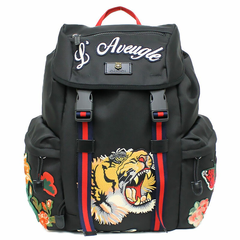 0ccc93cd40d5 [brand] GUCCI [the reference list price] 273,240 yen [material] Canvas X  applique [color] Red X blue X green X black (silver metal fittings)