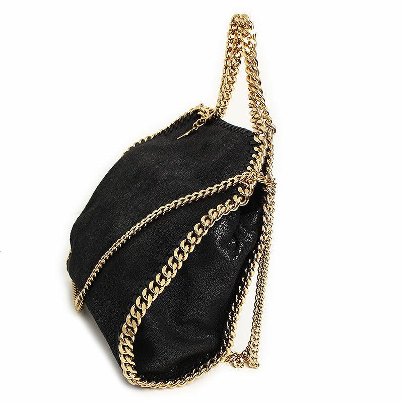 ステラマッカートニー ファラベラ シャギー ディア ミニ トート 2WAYバッグ ブラック 黒 371223 W9355【新品・未使用品】