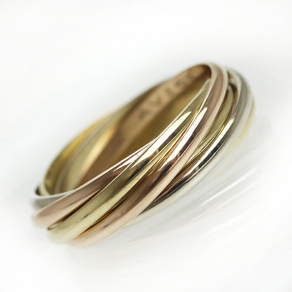 レディースジュエリー・アクセサリー, 指輪・リング  7 750 K18 (YGPGWG) 52 12 B4089100
