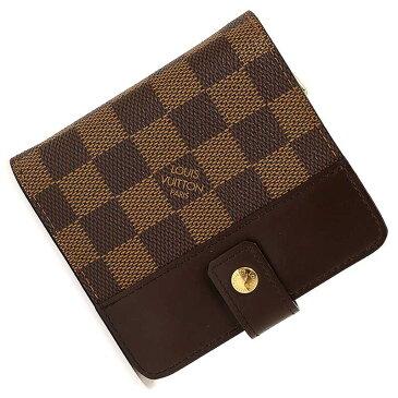 【新品・未使用品】ルイ・ヴィトン ダミエ コンパクト・ジップ 二つ折り財布 N61668 箱付