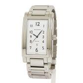 ティファニー グランド レクタンギュラー デイト 腕時計【未使用 新品同様】