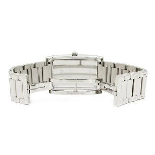 ティファニーグランドレクタンギュラーデイト腕時計(未使用品)