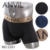 ANVIL アンビル ボクサーパンツ メンズ ボクサー パンツ ローライズ アンダーウエア メール便対応 無地
