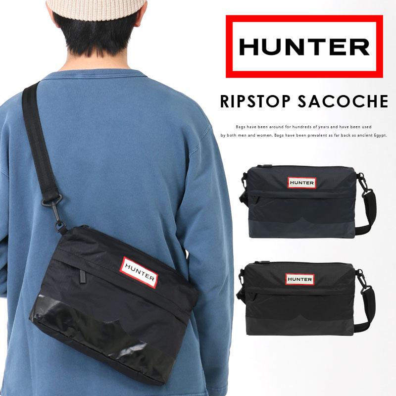 男女兼用バッグ, ショルダーバッグ・メッセンジャーバッグ HUNTER Original Ripstop Sacoche UBC1130KBM
