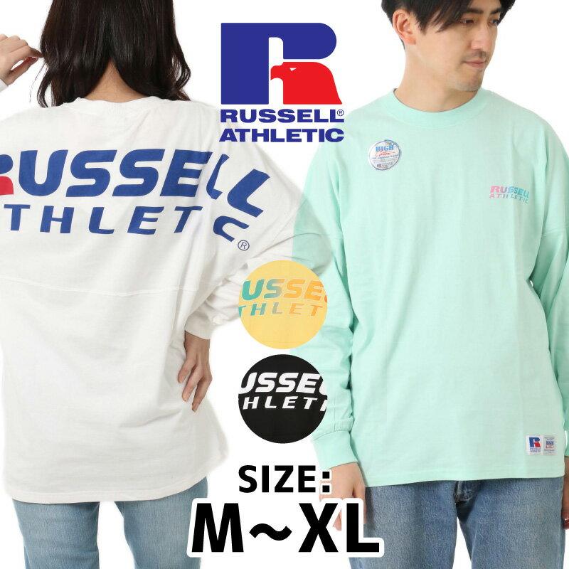 トップス, Tシャツ・カットソー  RUSSELL ATHLETIC T T T T HIGH COTTON RC-19038