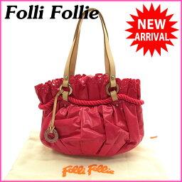 Folli Follie【フォリフォリ】 ハンドバッグ  レディース