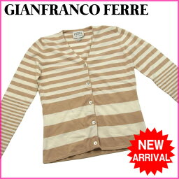 GIANFRANCO FERRE【ジャンフランコ・フェレ】 カーディガン  レディース