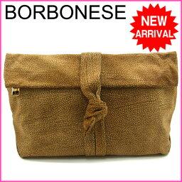 BORBONESE【ボルボネーゼ】 セカンドバッグ  レディース