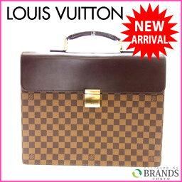 LOUIS VUITTON【ルイ・ヴィトン】 7981 ビジネスバッグ ダミエキャンバス レディース