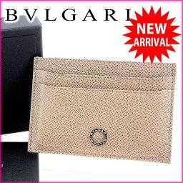 BVLGARI【ブルガリ】 カードケース レザー ユニセックス