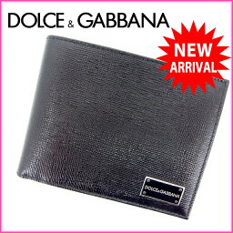 DOLCE&GABBANA【ドルチェアンドガッバーナ】 二つ折り財布(小銭入れあり)  レディース