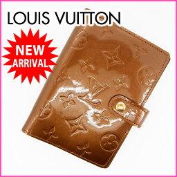 LOUIS VUITTON【ルイ・ヴィトン】 R21004 手帳カバー /パテントレザ- ユニセックス