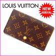ルイヴィトン Louis Vuitton L字ファスナー財布 二つ折り /メンズ可 /ポルトモネビエトレゾール モノグラム M61730 ブラウン PVC×レザー (あす楽対応)(・ 人気 )(参考定価60900円)【中古】 J2252 .