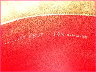 バリーBALLYブーツ#381/2ブラウンスエード(対応)(超美品・人気)【】J2584
