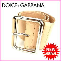DOLCE&GABBANA【ドルチェアンドガッバーナ】 ベルト  レディース
