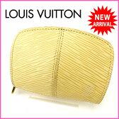 ルイヴィトン Louis Vuitton コインケース メンズ可 エピ M6368A ヴァニラ レザー (あす楽対応) 人気 美品 【中古】 J4702 .