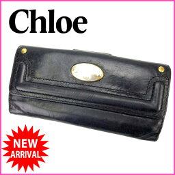 Chloe【クロエ】 長財布(小銭入れあり)  レディース