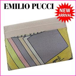 Emilio Pucci【エミリオ・プッチ】 カードケース  男女兼用