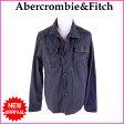 () アバクロンビー&フィッチ Abercrombie&Fitch ジャケット コート Mサイズ メンズ ワークデザイン ダークグレー C 100% 【中古】 B535