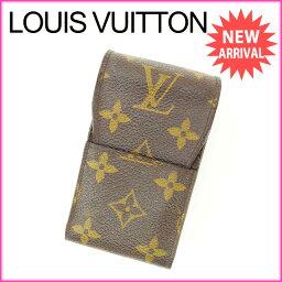 LOUIS VUITTON【ルイ・ヴィトン】 M63024 シガレットケース /モノグラムキャンバス ユニセックス