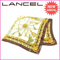 LANCEL【ランセル】 スカーフ /絹 レディース