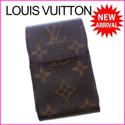 LOUIS VUITTON【ルイ・ヴィトン】 M63024 8011 シガレットケース /モノグラムキャンバス ユニセックス