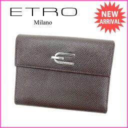 ETRO【エトロ】 二つ折り財布(小銭入れあり)  レディース