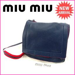 MIUMIU【ミュウミュウ】 ショルダーバッグ  レディース