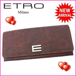 ETRO【エトロ】 長財布(小銭入れあり)  レディース