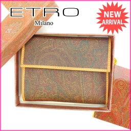 ETRO【エトロ】 三つ折り財布(小銭入れあり)  レディース