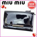 【中古】 ミュウミュウ miumiu 三つ折り財布 ファスナー メンズ...