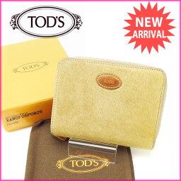 TOD'S【トッズ】 二つ折り財布(小銭入れあり)  レディース