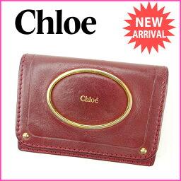 Chloe【クロエ】 カードケース  ユニセックス