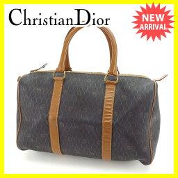 Christian Dior【クリスチャンディオール】 ボストンバッグ  レディース
