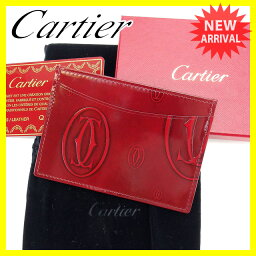 CARTIER【カルティエ】 カードケース  nothing