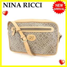 NINA RICCI【ニナリッチ】 ショルダーバッグ  レディース
