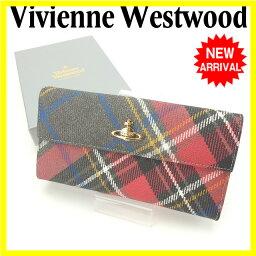 Vivienne Westwood【ヴィヴィアン・ウエストウッド】 長財布(小銭入れあり)  レディース