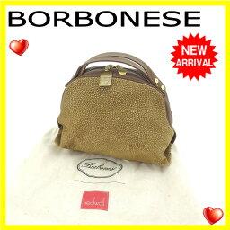 BORBONESE【ボルボネーゼ】 ハンドバッグ  レディース
