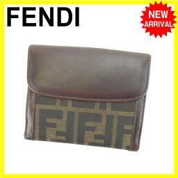 FENDI【フェンディ】 二つ折り財布(小銭入れあり)  レディース