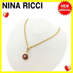 NINA RICCI【ニナリッチ】 ネックレス  レディース