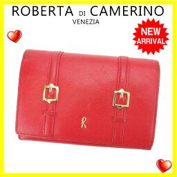Roberta di Camerino【ロベルタ・ディ・カメリーノ】 二つ折り財布(小銭入れあり)  レディース