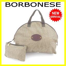 BORBONESE【ボルボネーゼ】 ボストンバッグ  レディース