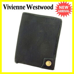 Vivienne Westwood【ヴィヴィアン・ウエストウッド】 二つ折り財布(小銭入れあり)  レディース