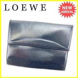 LOEWE【ロエベ】 二つ折り財布(小銭入れあり)  レディース